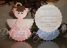 Beautiful Angelito design invitations for girl and boy !! Nothing like a beautiful and original invitation to represent your event ... Perfect for Baptism, Baby Shower, Presentation Etc. Each invitation includes printing of your event data (English or Spanish) CUSTOMIZED includes