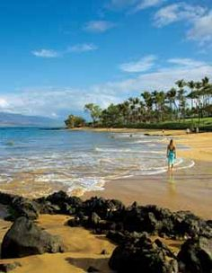 "Scientist Stephen P. Leatherman, famously known as ""Dr. Beach,"" has named several of Maui's beaches as ""America's Best"" over the years, including Kapalua's DT Fleming Beach, Ka'anapali Beach, Wailea Beach (pictured) and Kapalua Bay Beach.    #beach #maui #hawaii BEAUTIFUL SUNSET AND MEMORIES"