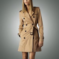 Hot sale 2017 Spring Autumn Brand Casual Trench coat for women Plus Size Long Double breasted Slim Windbreaker Outerwear Coats (32648672322)  SEE MORE  #SuperDeals
