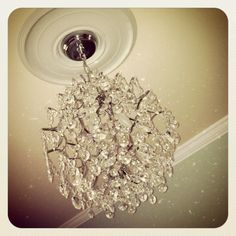 Bedroom chandeliers- Very popular right now.