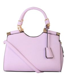 Another great find on #zulily! Lavender Gold-Tone Hardware Mini Satchel #zulilyfinds