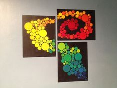 from Craftistas at http://craftistasinspiration.wordpress.com/2012/05/21/cheap-wall-art-with-paint-chips/#