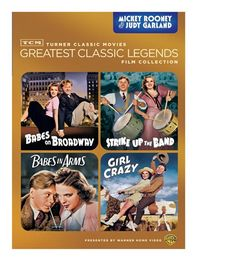 d915c4e1 TCM Greatest Classic Legends: Rooney & Garland (Babes on Broadway / Strike…  Judy