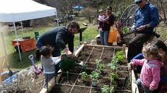 Teaching kids to #garden at the Greenburgh Nature Center in Scarsdale.