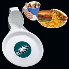 Philadelphia Eagles Ultimate Party Plate from TailgateGiant.com