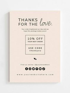 Small Business Cards, Business Notes, Business Thank You Cards, Business Branding, Graphic Design Fonts, Label Design, Branding Design, Thank You Card Design, Print Layout