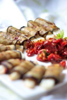 Kokit ja Potit -ruokablogi: Munakoiso-halloumkääryleet