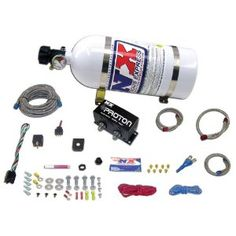 Nitrous Express Proton Plus Nitrous System with 10 lbs. Bottle Nitrous Express Proton Plus Nitrous System with 10 pounds Bottle combines performance,