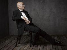 Patrick Stewart: Inside Mark Seliger's Portrait Studio at the 2014 Vanity Fair White House Correspondents' Party | Vanity Fair