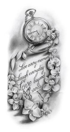 66 Badass Tattoo Ideas That You Really Want To Try 66 Badass Tattoo-Ideen die Sie wirklich ausprobieren möchten - Popular Tattoo Designs Dope Tattoos, Hand Tattoos, Badass Tattoos, Body Art Tattoos, Tattoos For Guys, Clock Tattoos, Tatoos, Time Clock Tattoo, Girl Arm Tattoos