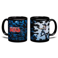 Walking Dead Surrounded Mug. I love coffee and tea, I also love zombies and the walking dead Walking Dead Zombies, Fear The Walking Dead, Stuff And Thangs, I Love Coffee, How To Make Light, Mug Cup, Coffee Mugs, Drink Coffee, Nerdy