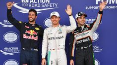 European Grand Prix: Bad day for Brits as Rosberg takes pole