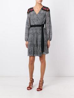 Diane Von Furstenberg 'Cabriole Dot Border' dress