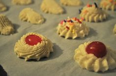 Our Italian Kitchen: Italian Butter Cookies made these; good recipe
