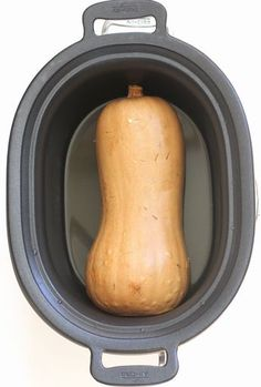 Butternut Squash in the Slow Cooker