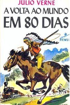A volta ao mundo 80 dias - Julio Verne - Hemus