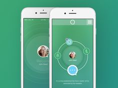Circles have become quite popular in user interface design!