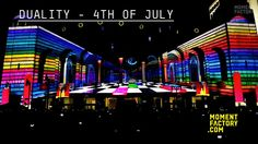 DUALITY - Atlantic City Sound and Light Show - July 4th by Moment Factory. The show premiered on July 4th. Here are the reactions!