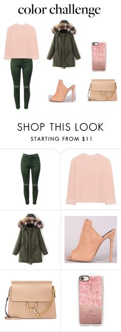 """""""Color Challenge"""" by ladydi-agron on Polyvore featuring moda, iHeart, Chloé, Casetify, colorchallenge y greenandblush"""