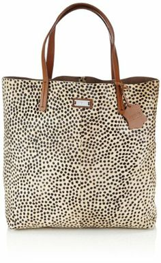 e93a3dedaf20 Mexx 14BAW100 Leather Shopper, shoppers femme - Marron - Braun leoprint,  38x36x10 cm (B x H x T) EU  Amazon.fr  Chaussures et Sacs