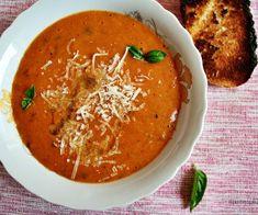supa crema de rosii si dovlecel copt Ethnic Recipes