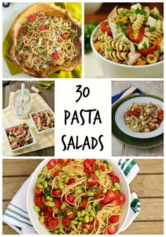 30 Pasta Salads {Roundup} - Family Food And Travel