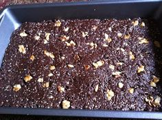 Amanda Nicole Smith Recipes: Raw Chia Brownie aka Choco-chia!