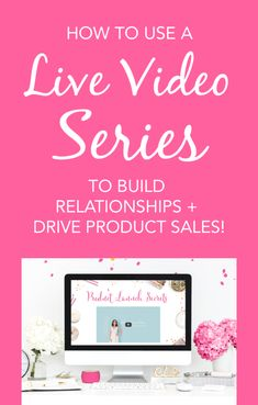 How to Use a Live Video Series to Build Relationships and Drive Product Sales - Brilliant Business Moms Social Media Tips, Social Media Marketing, Facebook Marketing, Content Marketing, Online Marketing, Digital Marketing, Blogging For Beginners, Life Planner, Sweet Life