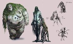 The Legend of Draugr – Undead Viking   World Mysteries Witcher Monsters, Apocalypse Art, Beast Creature, Swamp Creature, Game Concept, Character Concept, Concept Art, Game Character, Fantasy Creatures