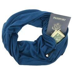 Men's Scarves Scarf With Pocket Convertible Journey Infinity Scarf All-match Fashion Man Zipper Pocket Scarf Soft Pocket Loop Plaid Scarf Making Things Convenient For Customers
