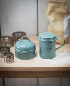 Our ever-popular Kitchen Cutters and Flour Shaker in Shutter Blue really do make…