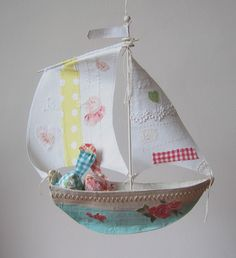 Ann Wood Sailboat