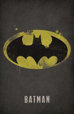 Batman Minimlist Poster - West Graphics