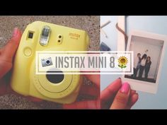 Instax Mini 8 Review + Double Exposure Trick - YouTube