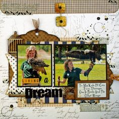 Living a Dream - Quick Quotes Back to Basics collection by Marcia Dehn-Nix