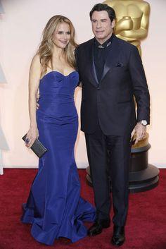 John Travolta and Kelly Preston...