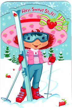 Strawberry Shortcake Strawberry Shortcake Pictures, Strawberry Shortcake Characters, Strawberry Shortcake Doll, Raggy Dolls, Girly Cakes, Cute Clipart, Christmas Cross, Christmas Holidays, American Greetings