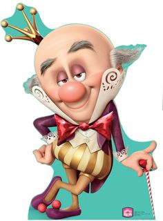 King Candy - Wreck-It Ralph Lifesize Standup