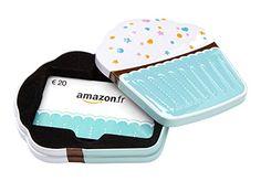 Carte cadeau Amazon.fr – €20 – Dans un coffret Cupcake: Cadeau idéal, échangeable contre des millions d'articles, pour faire plaisir à coup…