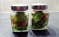 Zoetzuur ingelegde komkommer   Gewoon een foodblog!