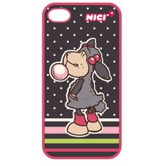 Jolly Lucy Hardcase 3D - for iphone 4/4S