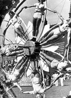 big wheel keeps on turnin'....proud mary keeps on burnin'; rollin