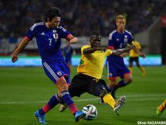 Gaku Shibasaki - MF - #7 Japan vs. Jamaica KIRIN CHALLENGE CUP DENKA BIG SWAN STADIUM 2014-10-10