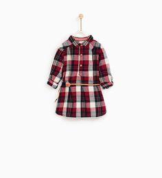 Image 1 of SHIRT DRESS from Zara