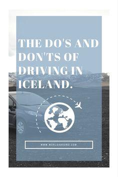 Iceland 1 Week Road Trip Itinerary & World Abound Iceland Road Trip, Iceland Travel Tips, Best Places To Travel, Places To Go, Iceland With Kids, Iceland Adventures, Wanderlust, Roadtrip, Trip Planning
