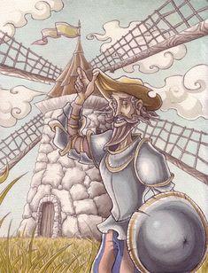 Don Quijote de la Mancha by Bakke on deviantART