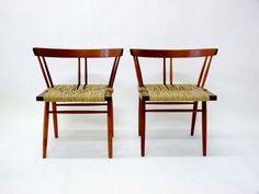 George Nakashima Grass Chairs