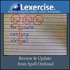Dyslexia tutoring with @Lexercise.com: review by @Maureen Spell