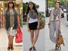 Como Usar: Cachecol e como usar lenço no pescoço, como amarrar lenço e vestir cachecol de tricô | Just Lia