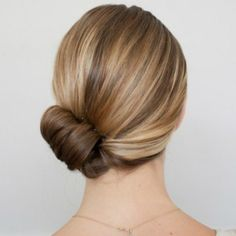 Four Steps To A Perfect Chignon   StyleCaster